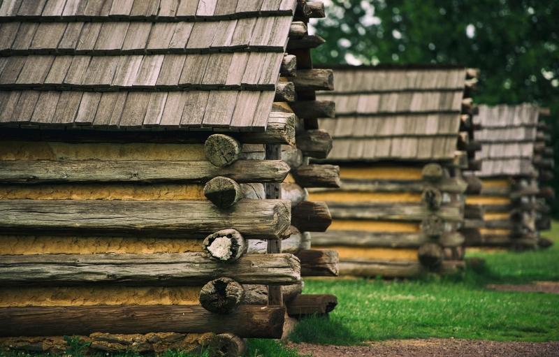 Cabinas en el Valley Forge National Historical Park
