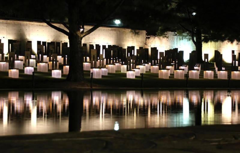 Memorial luz de las velas