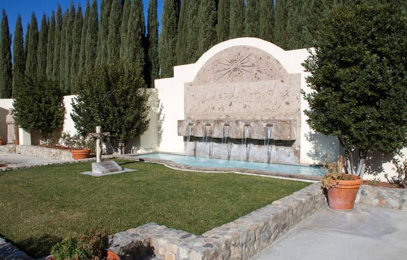 La tumba César Chávez en el monumento nacional de César Chávez
