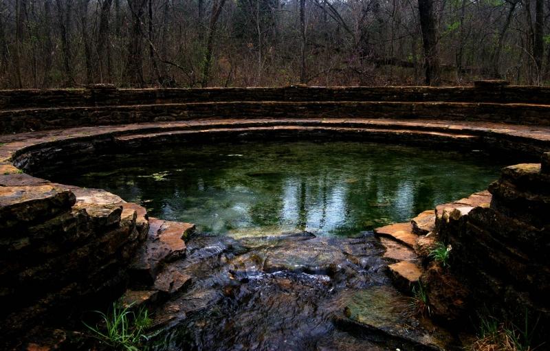 Masa de agua en maderas