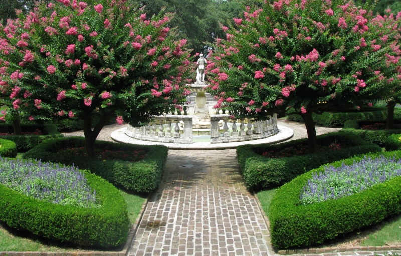 Elizabethan Gardens en Fort Raleigh National Historic Site