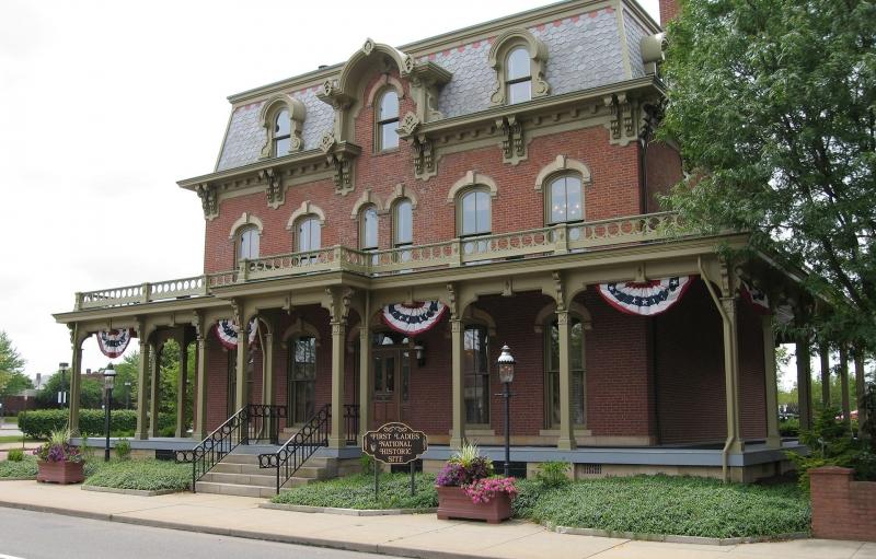 Saxton House en Primeras Damas sitio histórico nacional