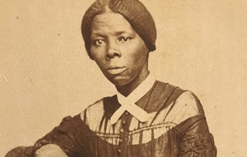 A photograph of young Harriet Tubman