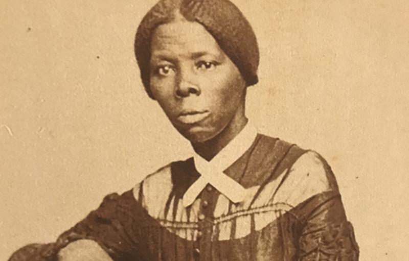 Una fotografía de la joven Harriet Tubman