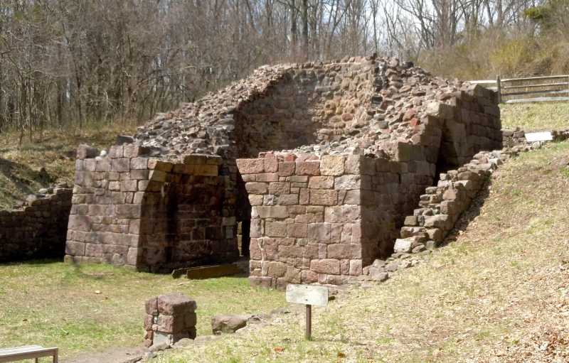 Hopewell Furnace bricks