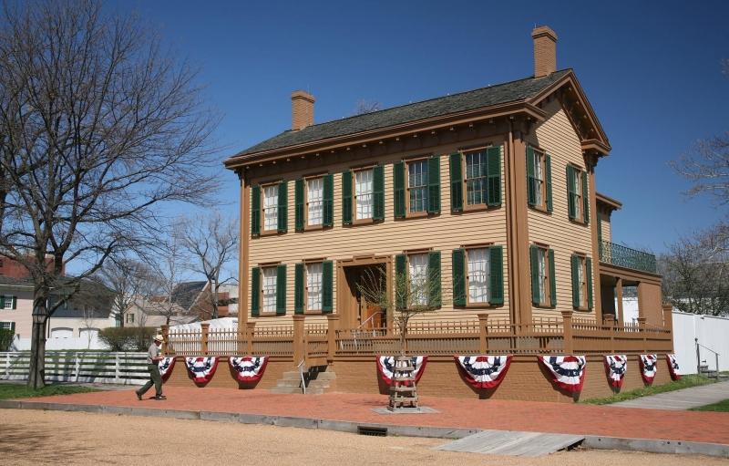 El sitio principal del presidente Lincoln