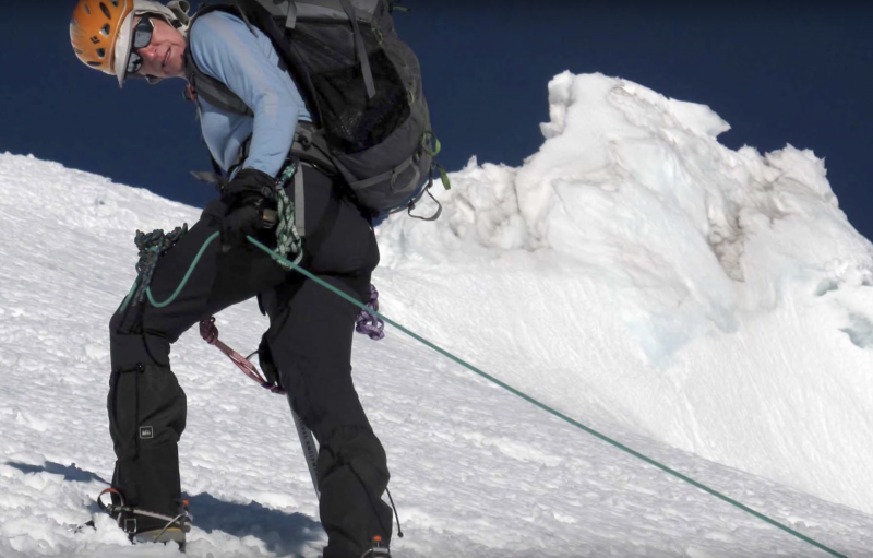 Sally Jewell mountaineering