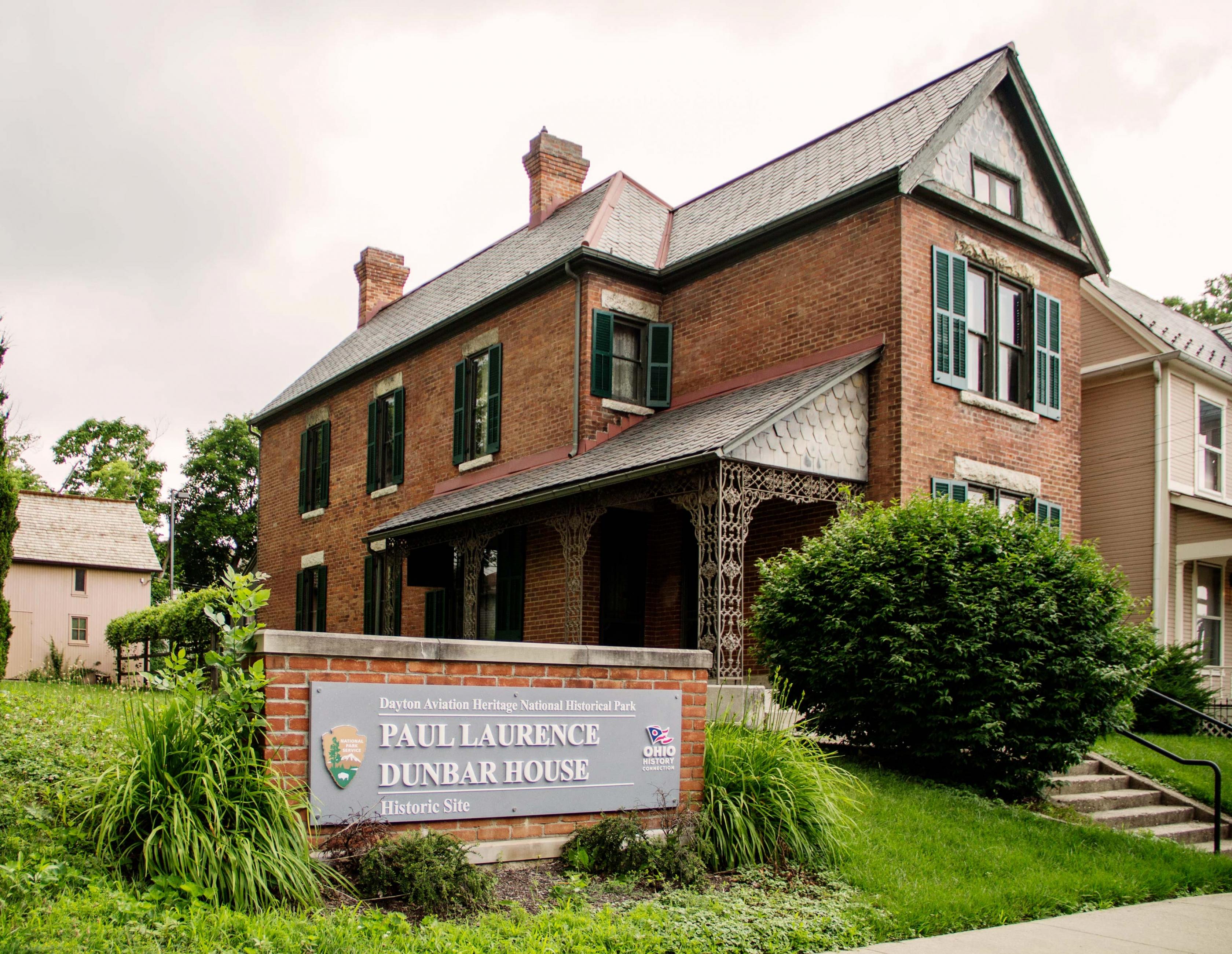El Paul Laurance Dunbar Casa en Dayton Aviación Parque Histórico.