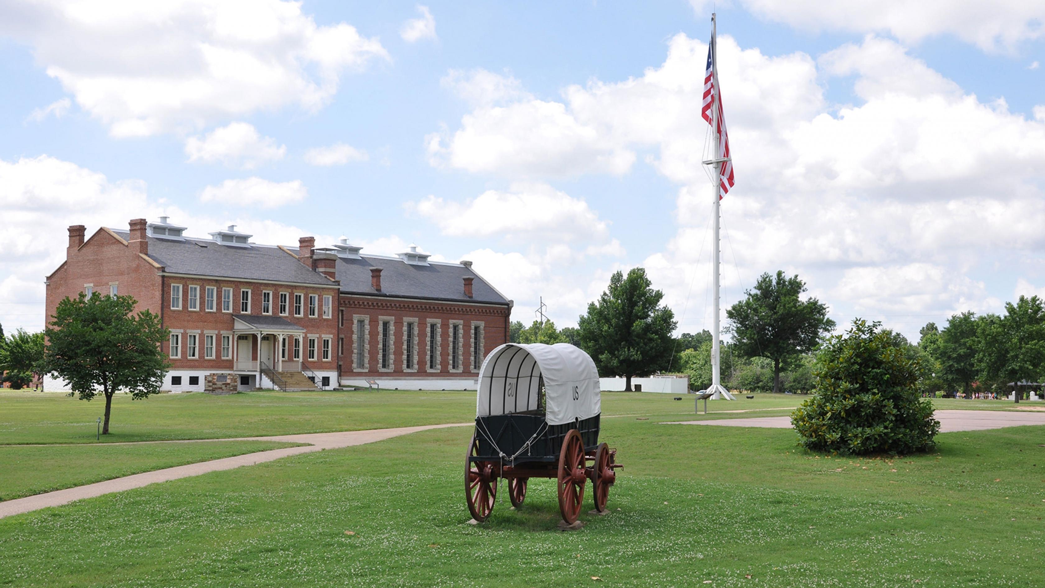 Fort Smith National Historical Park ofrece aventura.