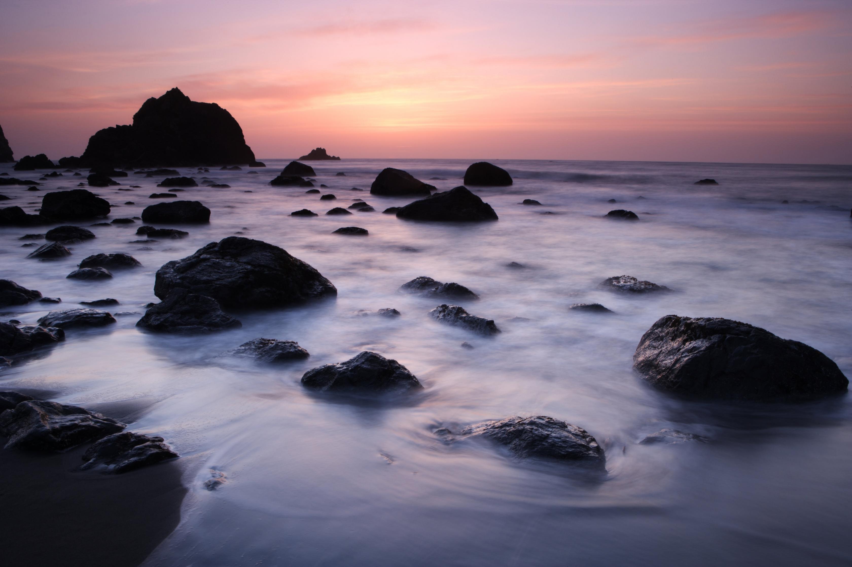 Point Reyes at sunset.