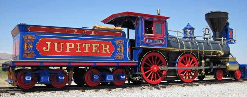 tren de vagones del punto de oro