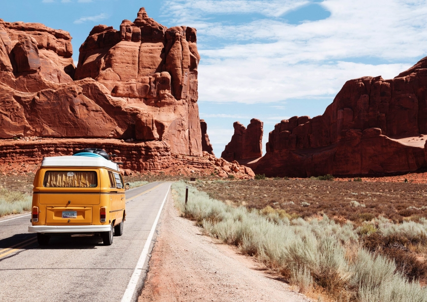 Touring through Arches National Park