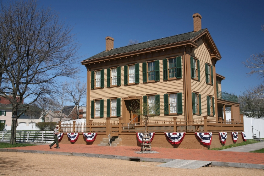 President Lincoln's Home site