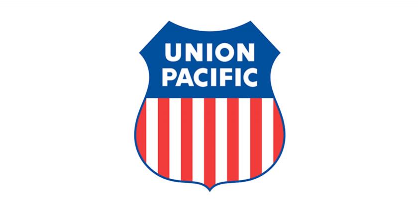 logotipo de la unión pacífica en blanco
