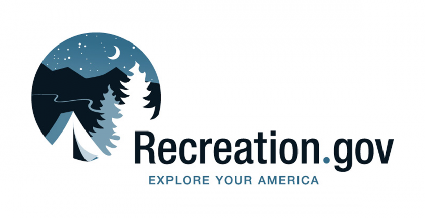 Recreation dot gov logo
